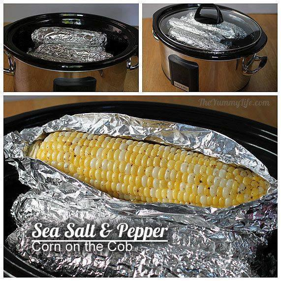 Slow Cooker Corn on the Cobb