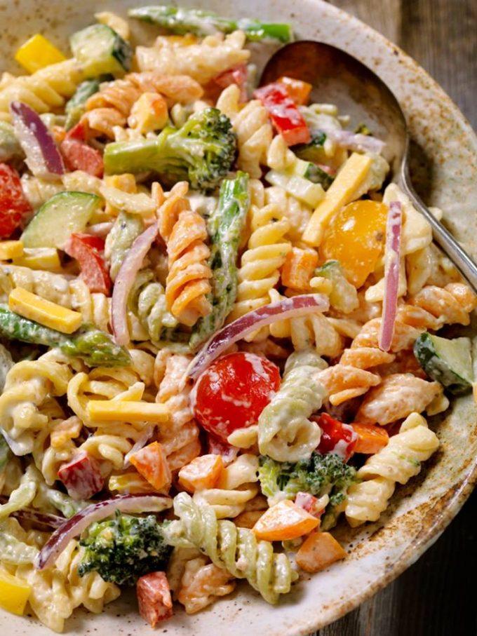 Creamy Poolside Pasta Salad