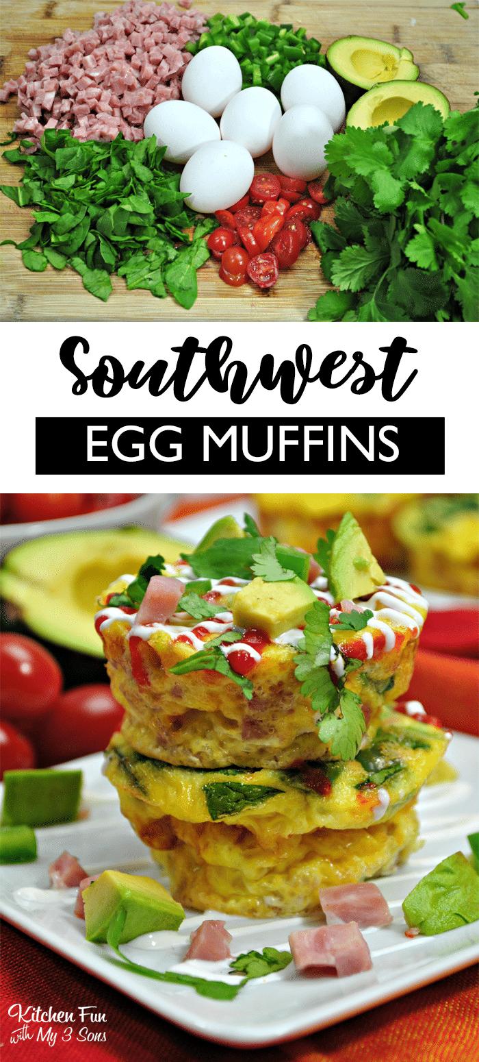 Southwest Egg Muffins