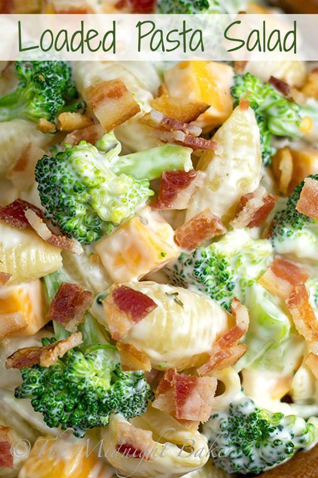 Loaded Pasta Salad Recipes
