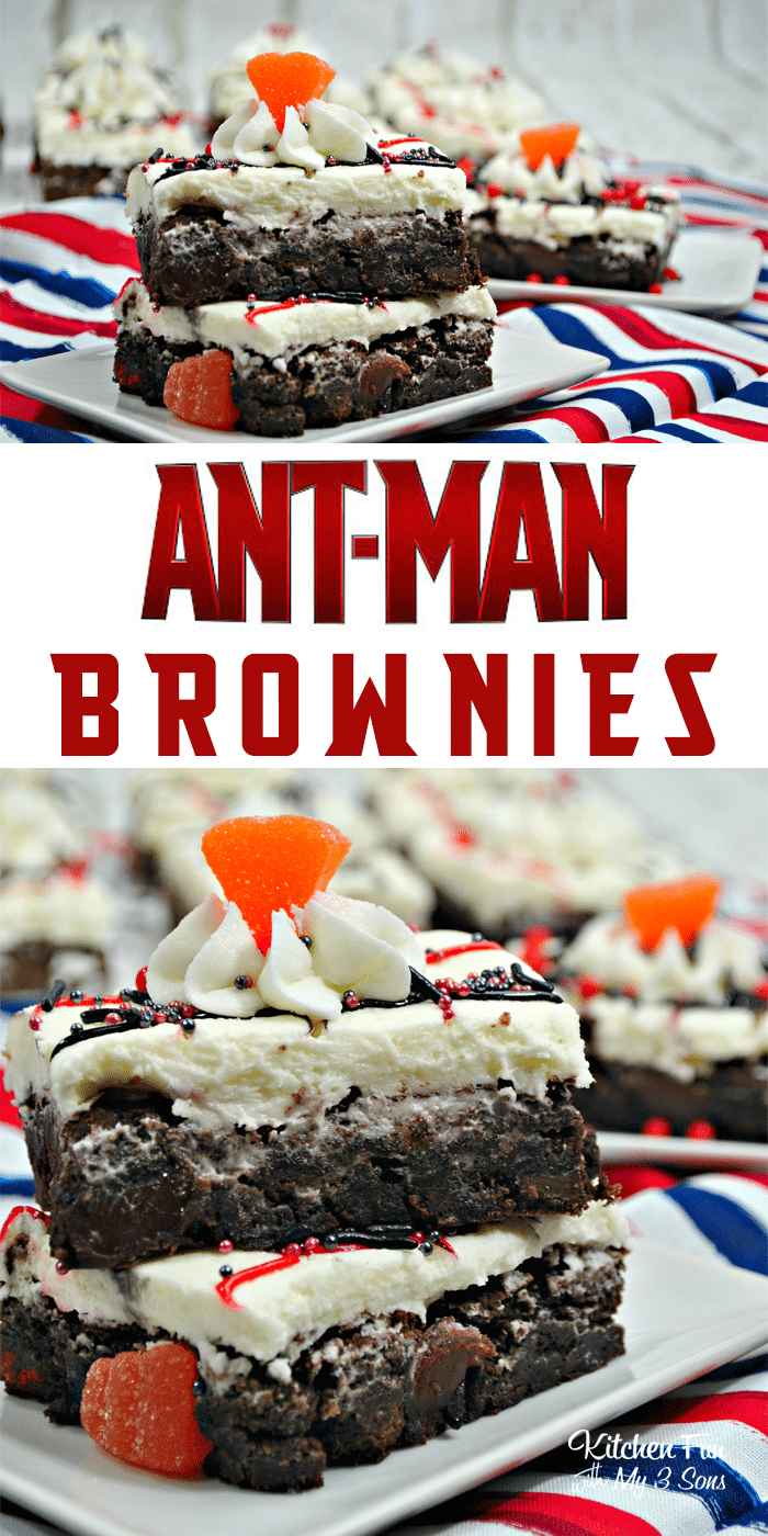 Antman Brownies