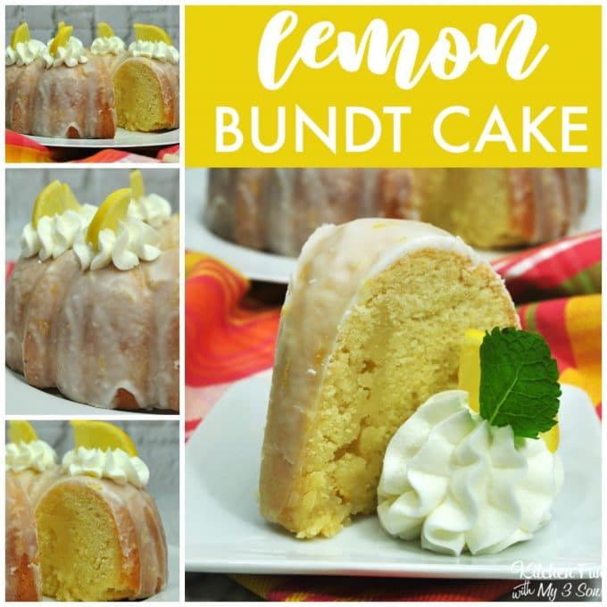 Homemade Lemon Bundt Cake