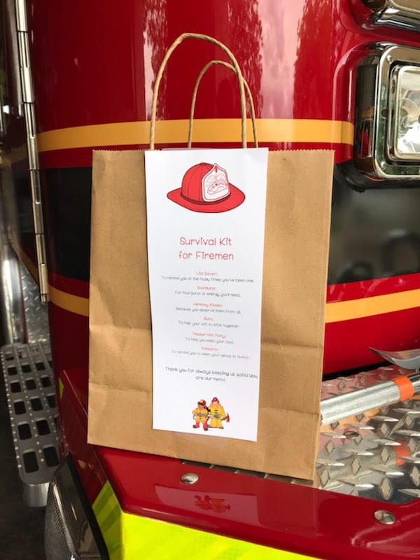 Survival Kit for Fire Fighters