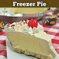 Rootbeer Float Freezer Pie