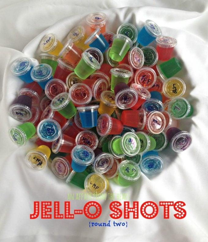 17 Summer Jello Shots