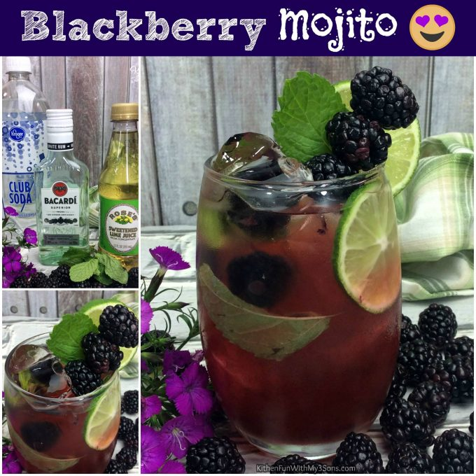 Blackberry Mojito - Over 40 of the BEST Summer Cocktails!