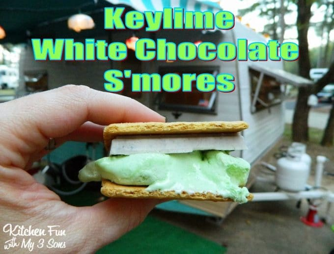Keylime White Chocolate S'mores - Best S'mores Recipes