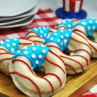 Patriotic Donuts