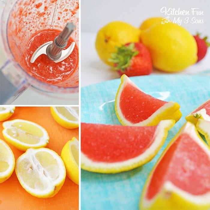Strawberry Lemonade Jello Shots