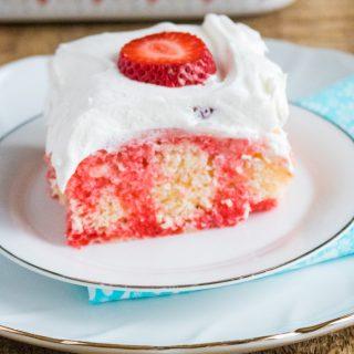 Berry Margarita Poke Cake