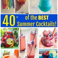 40+ of the BEST Summer Cocktails