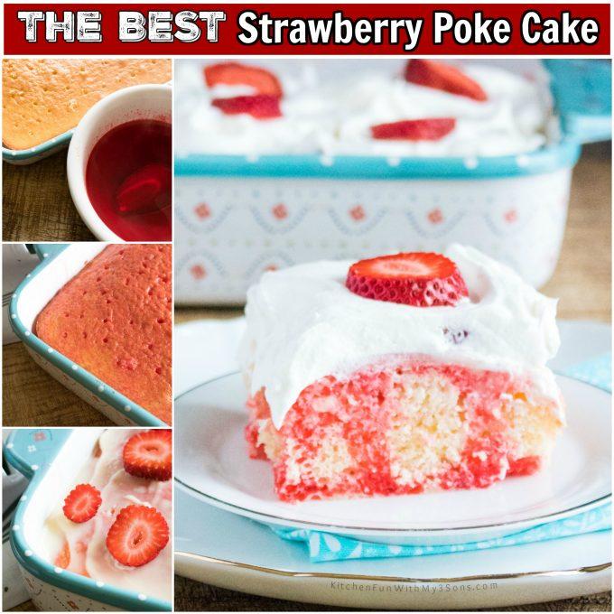 Pineapple Poke Cake Using Cake Mix