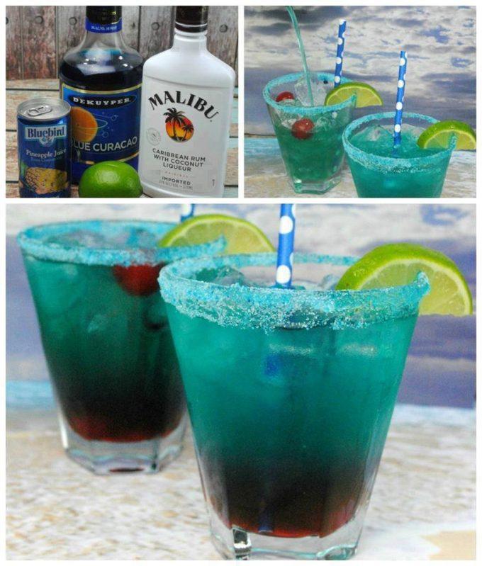 Shark Bite Cocktail - Over 40 of the BEST Summer Cocktails!