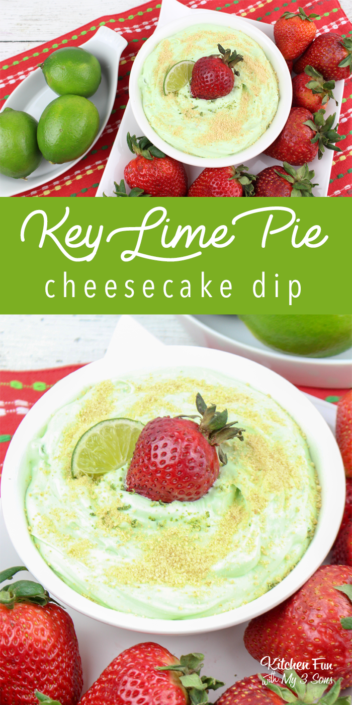 Easy Key Lime Cheesecake Dip