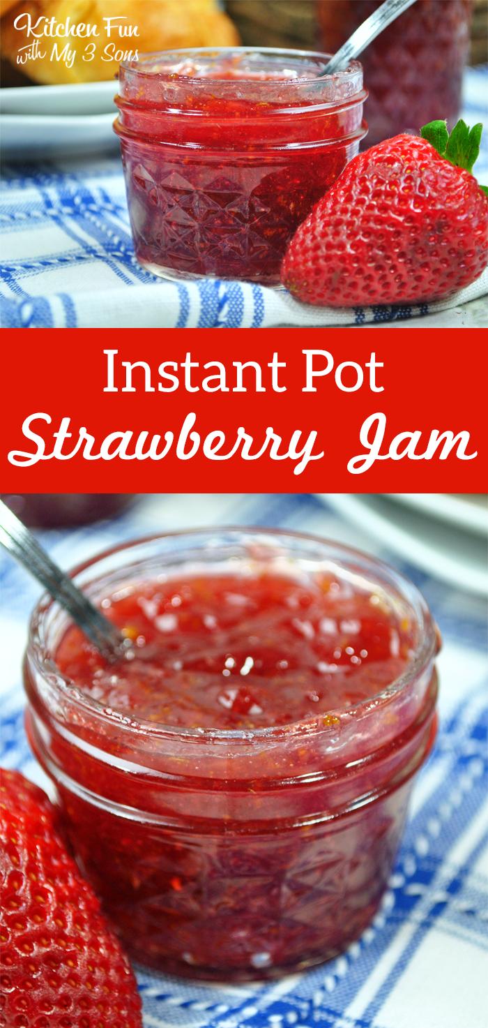 Instant Pot Strawberry Jam