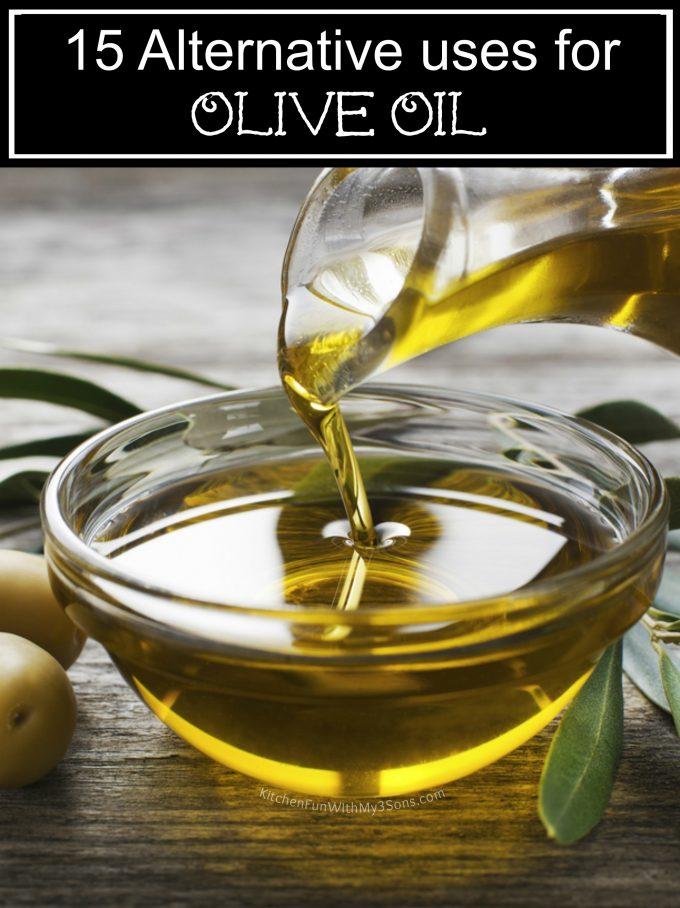 Alternative Uses for Olive Oil
