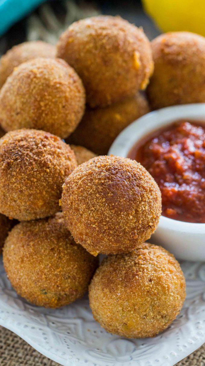 Cheesy Tuna Melt Balls Recipe