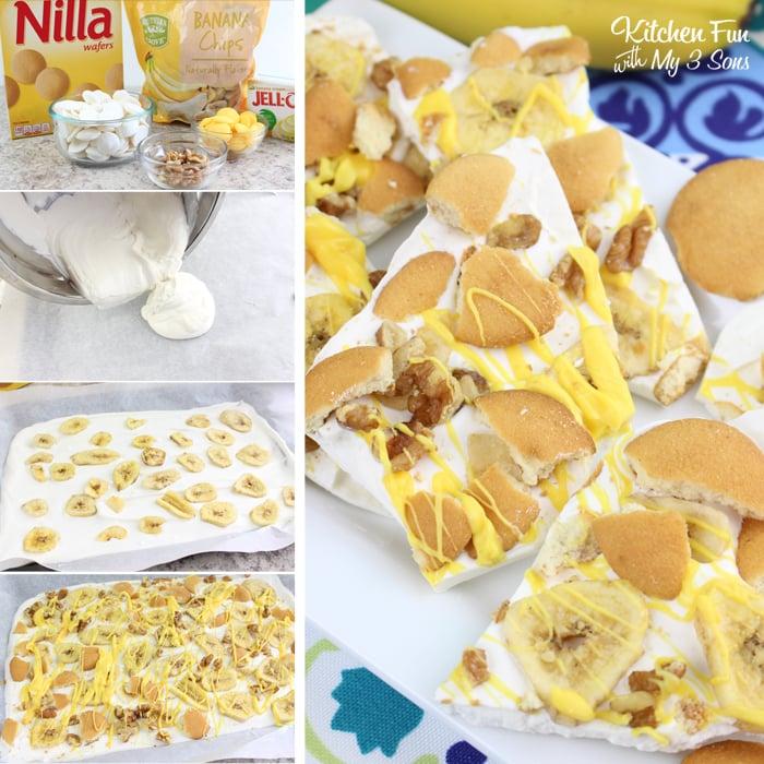 Nilla Banana Pudding Bark