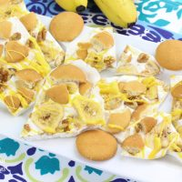 Banana Pudding Bark