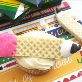 Pencil Cupcakes