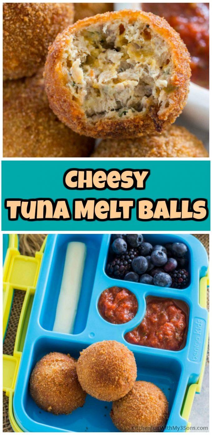Cheesy Tuna Melt Balls