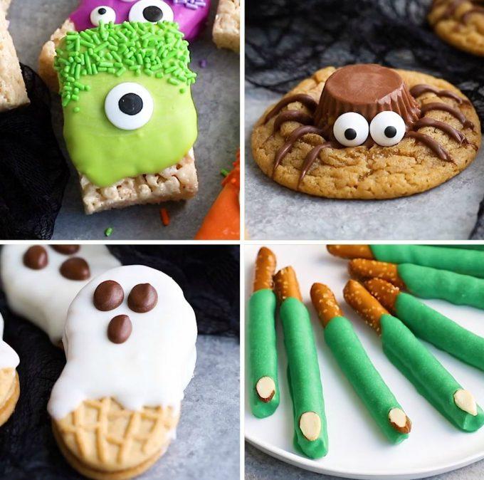 3-ingredient Halloween Treats - BEST Halloween Treat ideas!