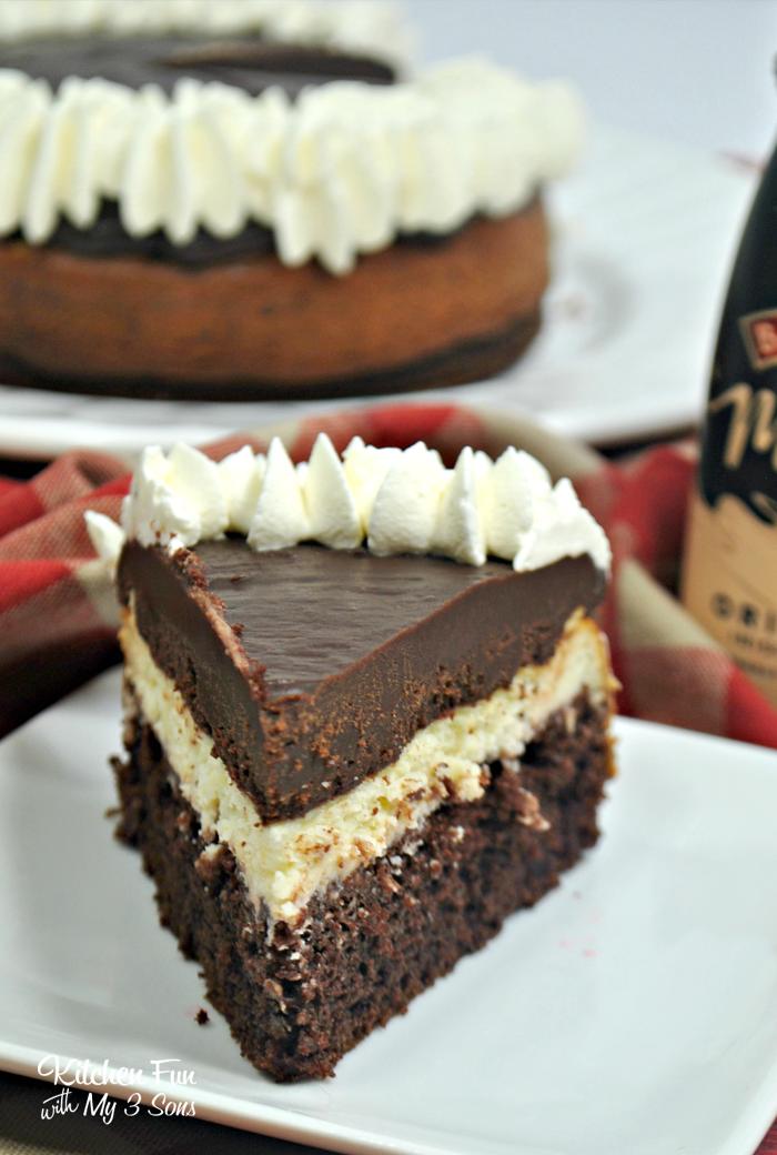 Baileys Cheesecake Cake