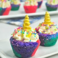 Unicorn Cookie Cups