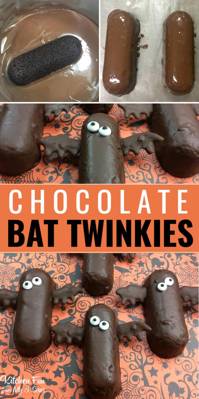 Bat Twinkies - BEST Halloween Treat ideas!