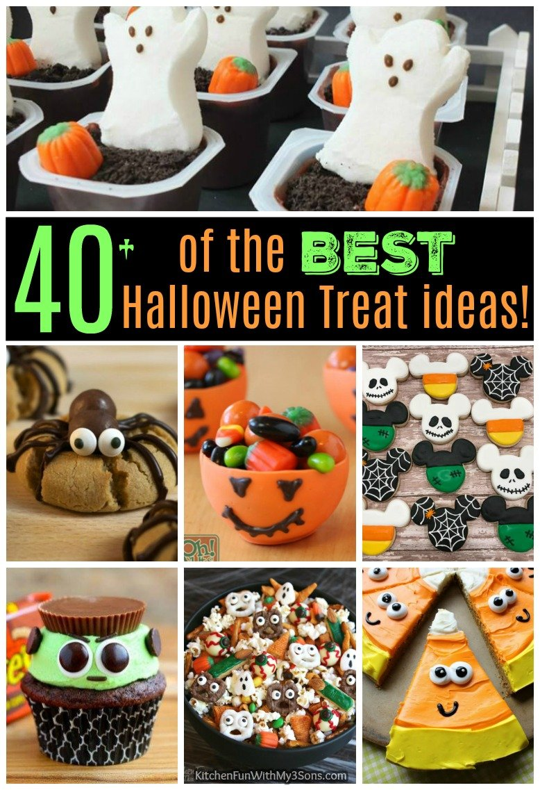 40+ of the best halloween treat ideas - kitchen fun with my 3 sons