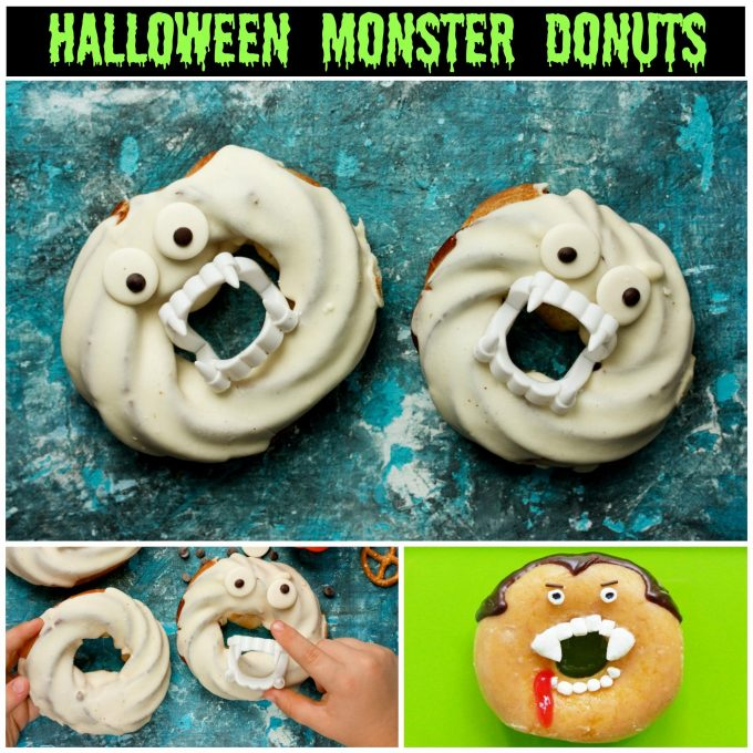 Monster Donuts - BEST Halloween Treat ideas!