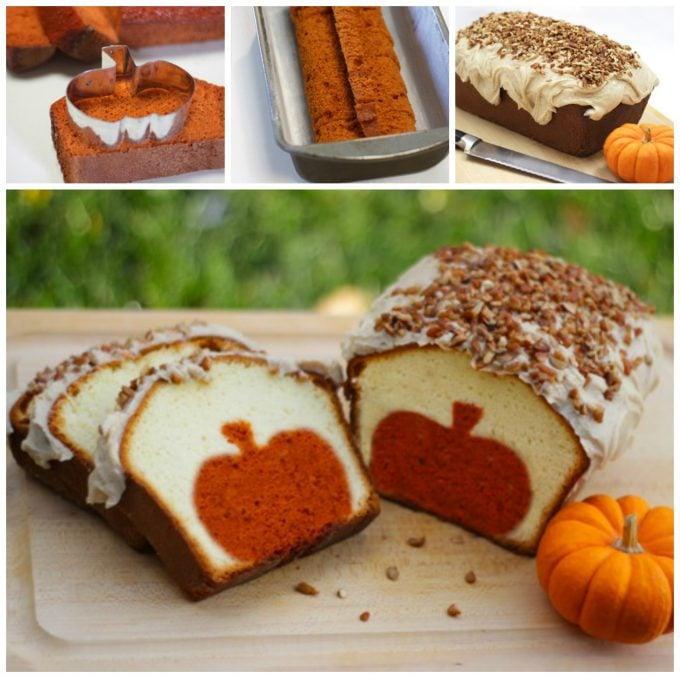 Pumpkin Surprise Pound Cake