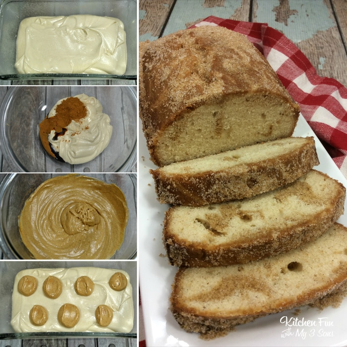 Cinnamon Swirl Donut Bread
