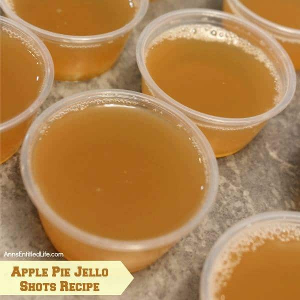 Apple Pie Jello Shots