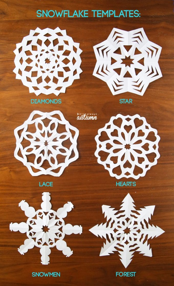How To Make Beautiful Paper Snowflakes Kitchen Fun With