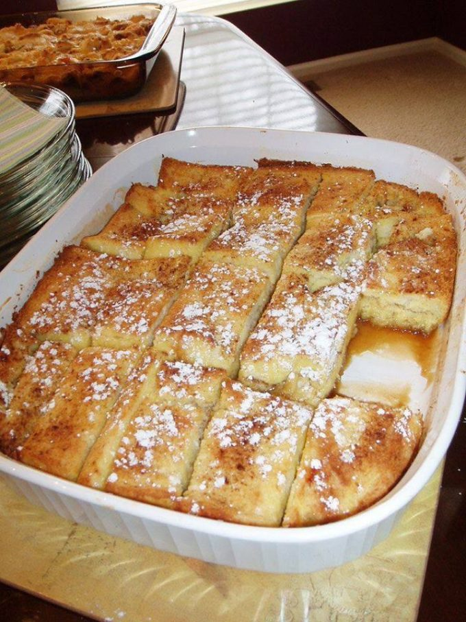 French Toast Bake - Christmas Breakfast Recipes