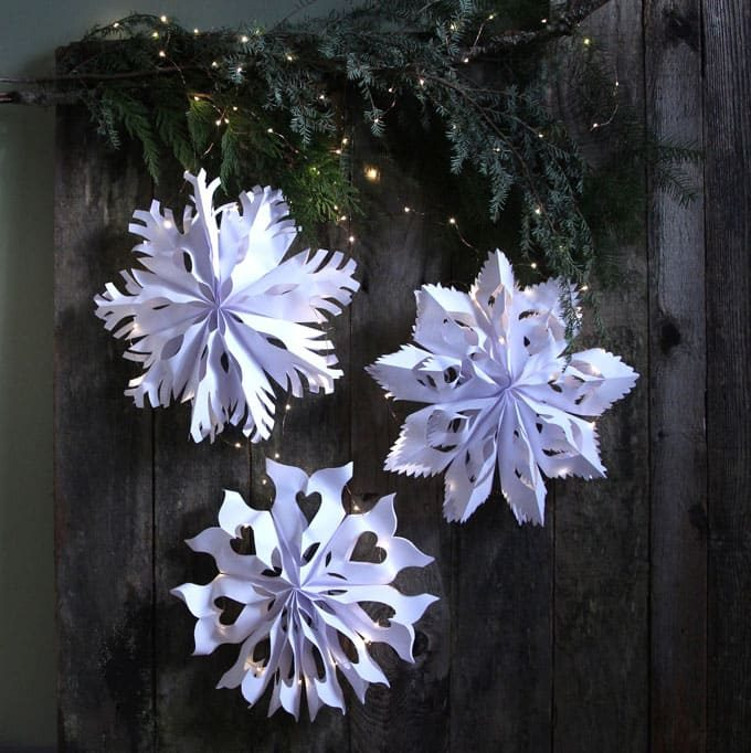 How to Make Beautiful Snowflakes
