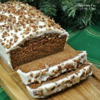 Starbucks Gingerbread Loaf | A delicious Starbucks copy-cat recipe of their yummy Gingerbread loaf