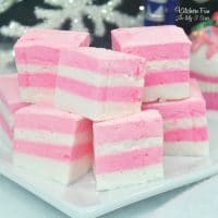 Homemade Sugar Plum Marshmallows recipe inspired by The Nutcracker and The Sugar Plum Fairy!