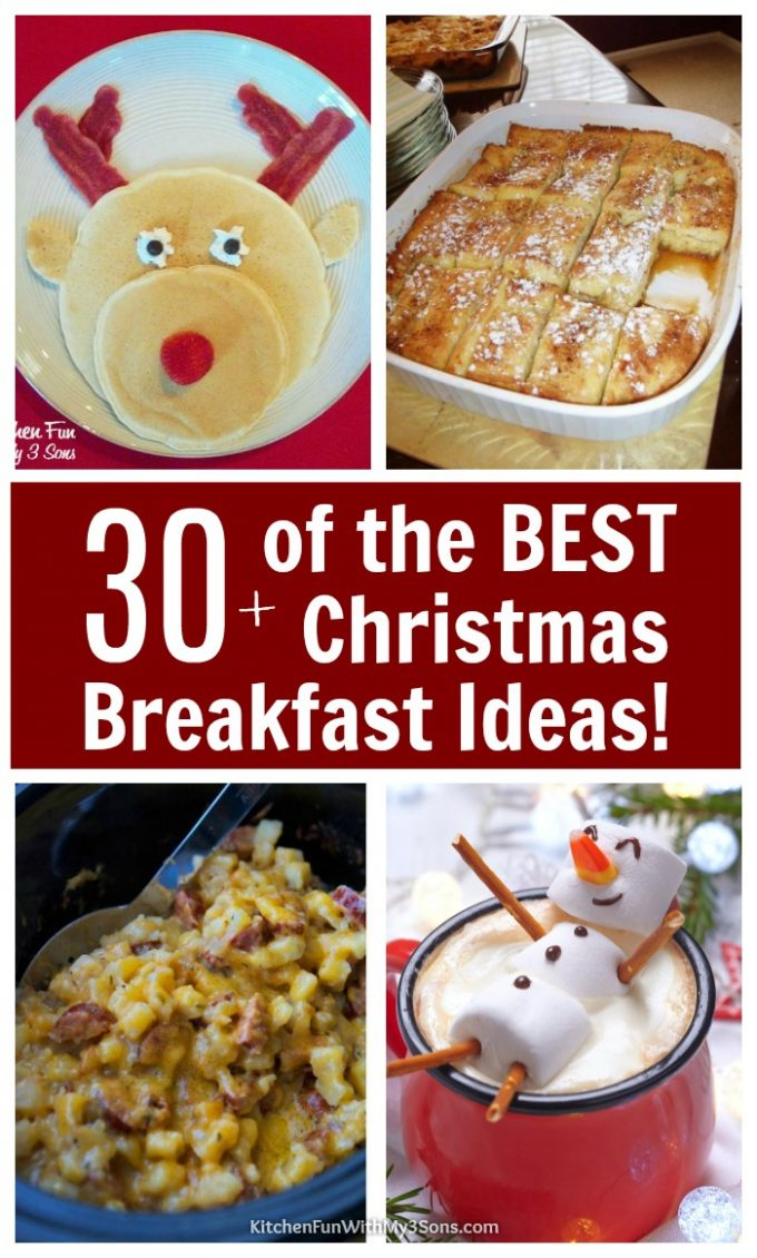 Over 30 of the BEST Christmas Breakfast Ideas!