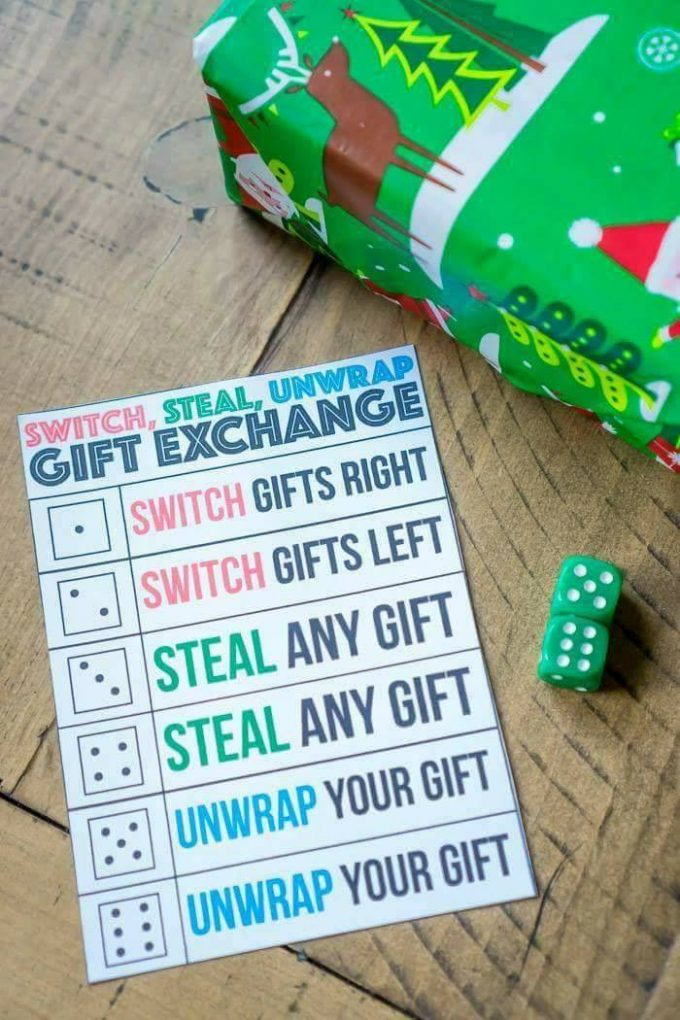 Christmas Gift Exchange Game - The BEST Holiday Party Games