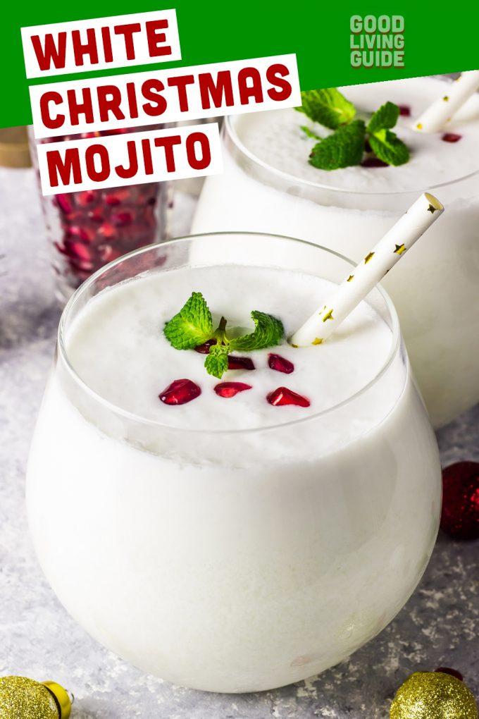 White Christmas Mojito