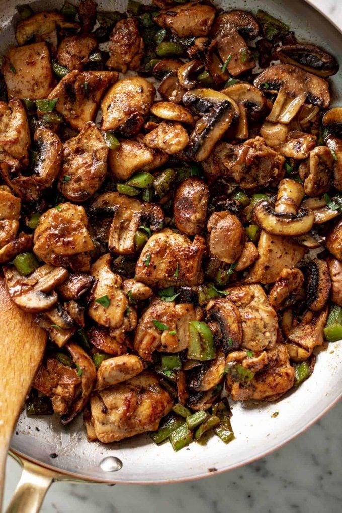 Mushroom Chicken Bites