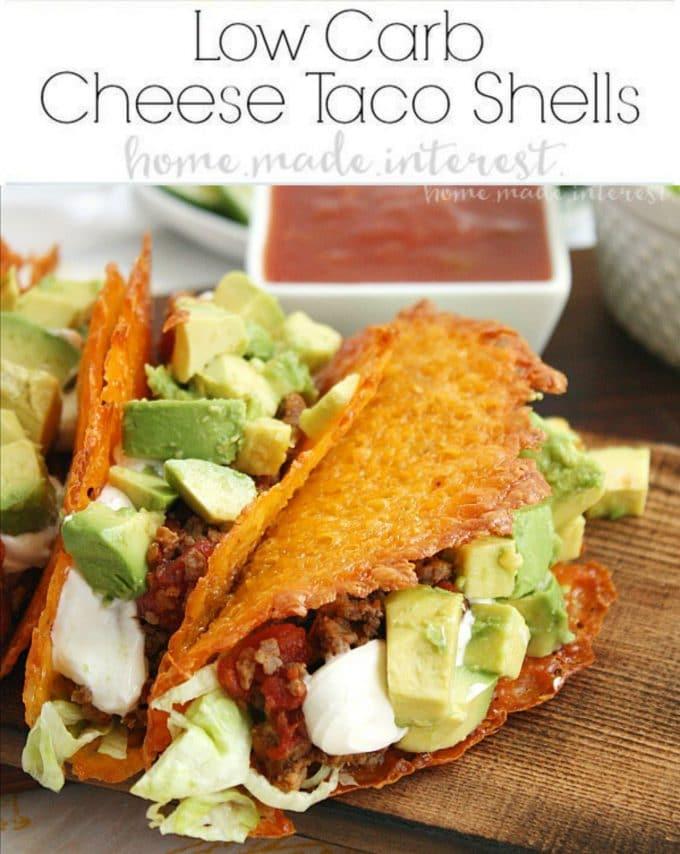 Keto Low-Carb Taco Shells
