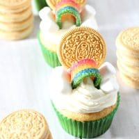 Easy St. Patrick's Day Cupcakes