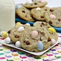 Malted Egg Easter Cookies