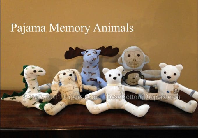 Pajama Memory Animals