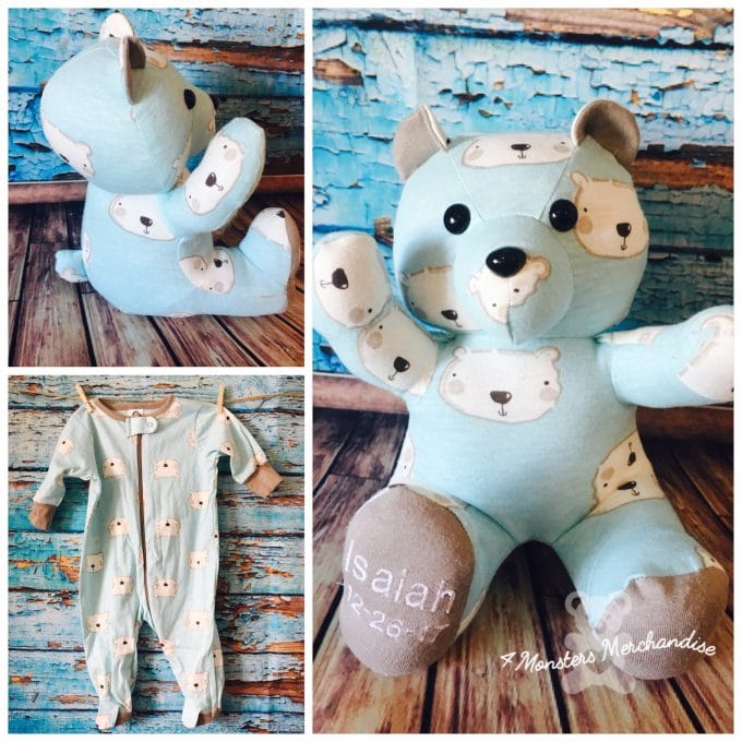 The BEST Memory Bear Keepsakes