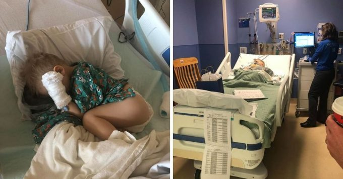 Parents Warning About Popcorn After Their Son Was Admitted Into Surgery