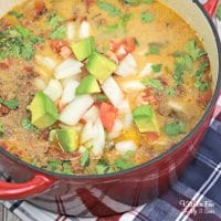 Enchilada Soup In The Slow Cooker